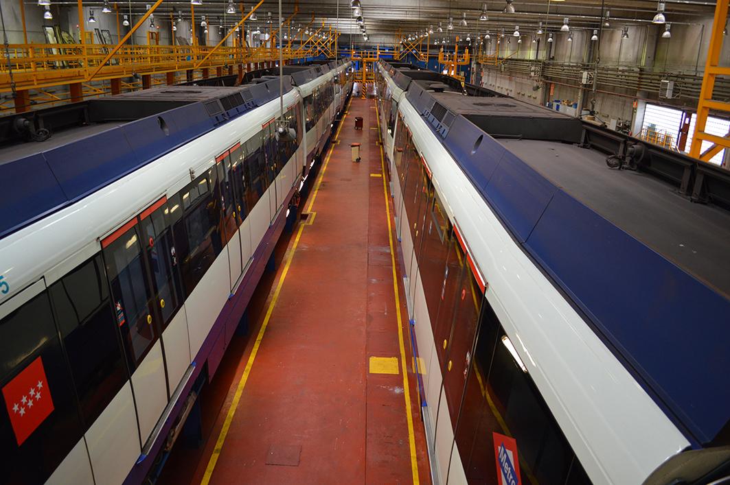 Vagones Metro Madrid