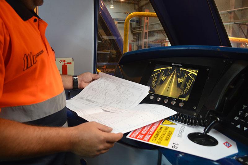 Configuración Control Cabina