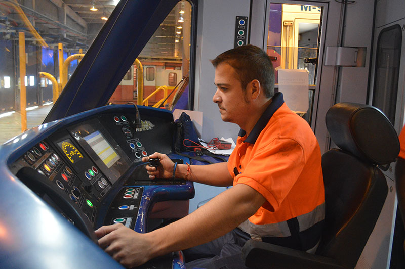 Test Control Cabina