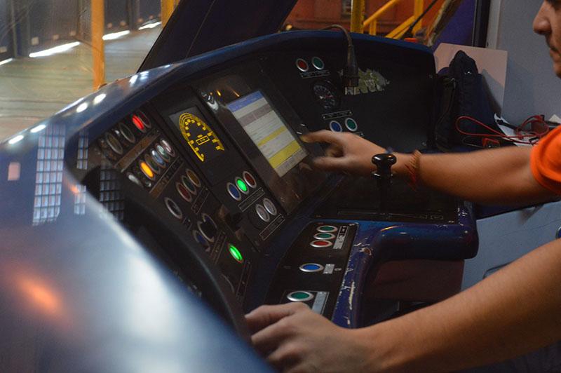 Detalle Control Cabina