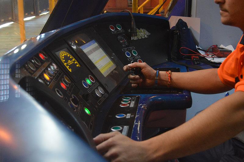 Mandos Control Cabina