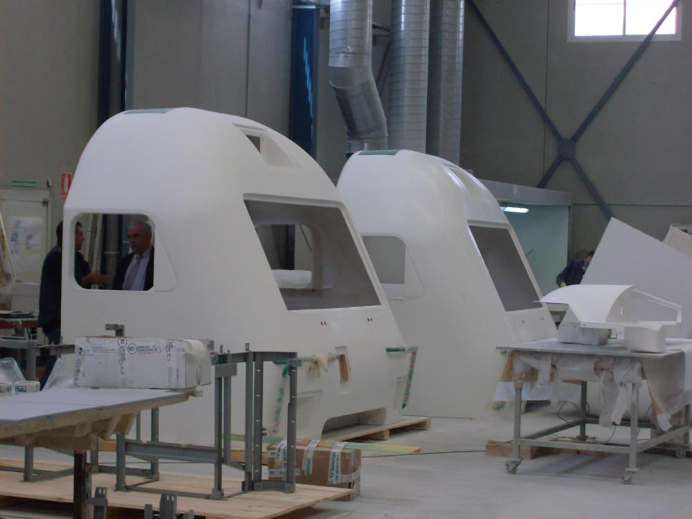Construcción Frontales Cabinas